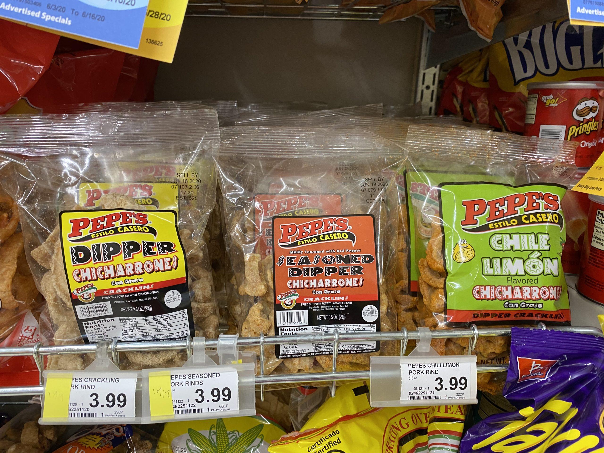 糖質制限お菓子~豚の皮・チチャロン